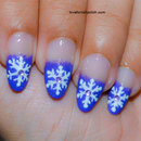 Purple Tips and Snowflake