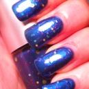 I found the Snipe Cobalt Blue Glitter Nail Polish