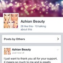 aZHian Beauty Facebook Page