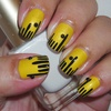 Ruler Nails - Back to School