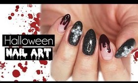 Gothic & Bloody Nails | Halloween 2018 ♡