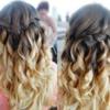Waterfall Braid hair