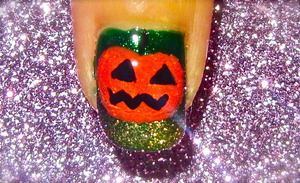 Halloween nailart o watch video tutorial for this look, SUBSCRIBE free to my youtube nailart channel: www.youtube.com/nailartbynidhi