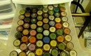 My Makeup Kit/Collection + ALL my MAC pigments & glitters