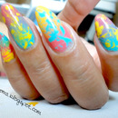 Gradient Splatter Left Hand