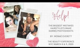 The Biggest Mistakes Hairstylists Make During Photoshoots Class at Beauty Experience NYC
