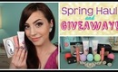 Spring Beauty & Fashion Haul + GIVEAWAY!