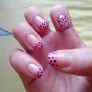 pink dotted