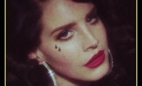Lana Del Rey - Young and Beautiful The Great Gatsby make-up tutorial