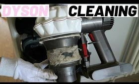 HOW TO DEEP CLEAN A DYSON VACUUM CLEANER | STEP BY STEP BREAKDOWN