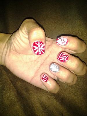 My xmas nails! :)