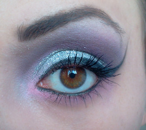 NOTE: These are my sister's eyes. This is my work on her.