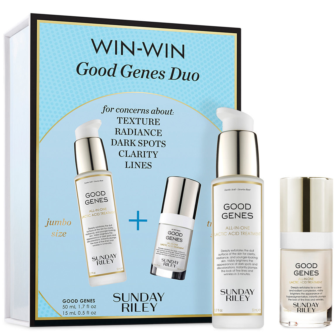 Sunday Riley Win-Win Good Genes Duo alternative view 1 - product swatch.