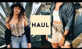 TRY ON CLOTHING HAUL 2019! TRENDY + CUTE  | Nastazsa
