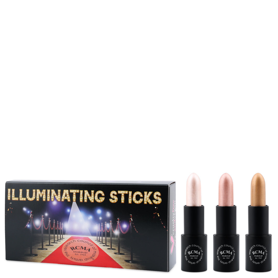 RCMA Makeup Illuminating Sticks Set alternative view 1 - product swatch.