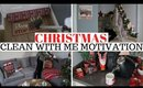 CHRISTMAS CLEAN WITH ME 2019 RAINY DAY CLEANING MOTIVATION