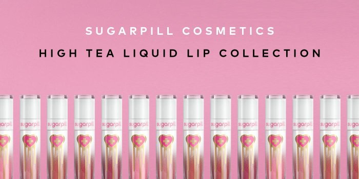 Shop Sugarpill's High Tea Liquid Lip Collection – now available!