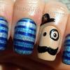 Dapper in Blue,