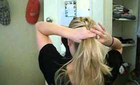 Braided Side Bun Hair Tutorial