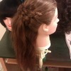 Braided Half-Updo