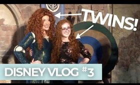 Meeting My Twin Merida! | Disney Vlog #3 | NailsByErin