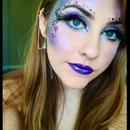 Fairy makeup.