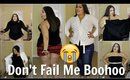 HUGE PLUS SIZE TRY-ON | OH NO! NOT AGAIN!!! | BOOHOO
