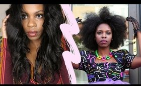 3 Tips to Blend Natural Hair to Straight Weave! Original Queen Hair