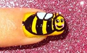 Bee nailart tutorial.... :-)