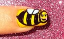 Bee nailart tutorial.... :-)