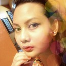 Using Revlon Foundation, Maybelline mascara, and maybelline hypersharp liner