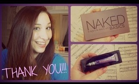 1000 SUBSCRIBER GIVEAWAY!!! THANK YOU!!!