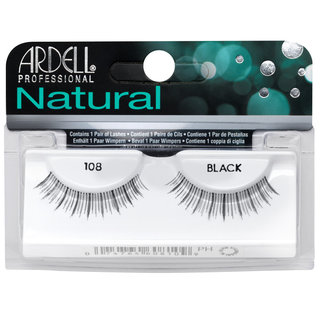 Natural Lashes 108 Black