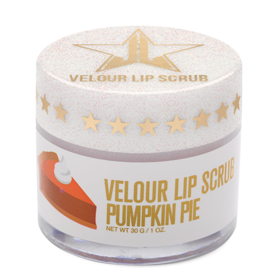 Jeffree Star Cosmetics Velour Lip Scrub Pumpkin Pie