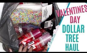 Valentines Day Dollar Tree Haul! Valentine Day Craft Haul