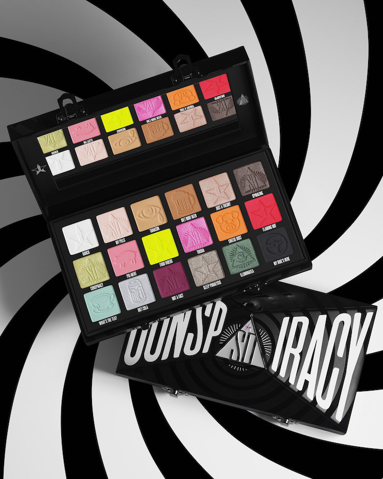Alternate product image for Conspiracy Palette shown with the description.