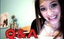 Q&A: Answers!