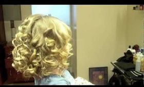 """Taylor Swift Inspired"" Shoulder Length Spiral Curls: Hair Tutorial"