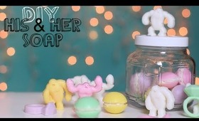 Make Soap His & Her Gift Ideas Macaroon, Abominable Snowman & Rings