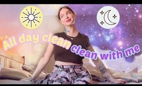 ULTIMATE WHOLE HOUSE CLEAN WITH ME 🧹✨ + GRWM + Meditation + New Moon Ritual