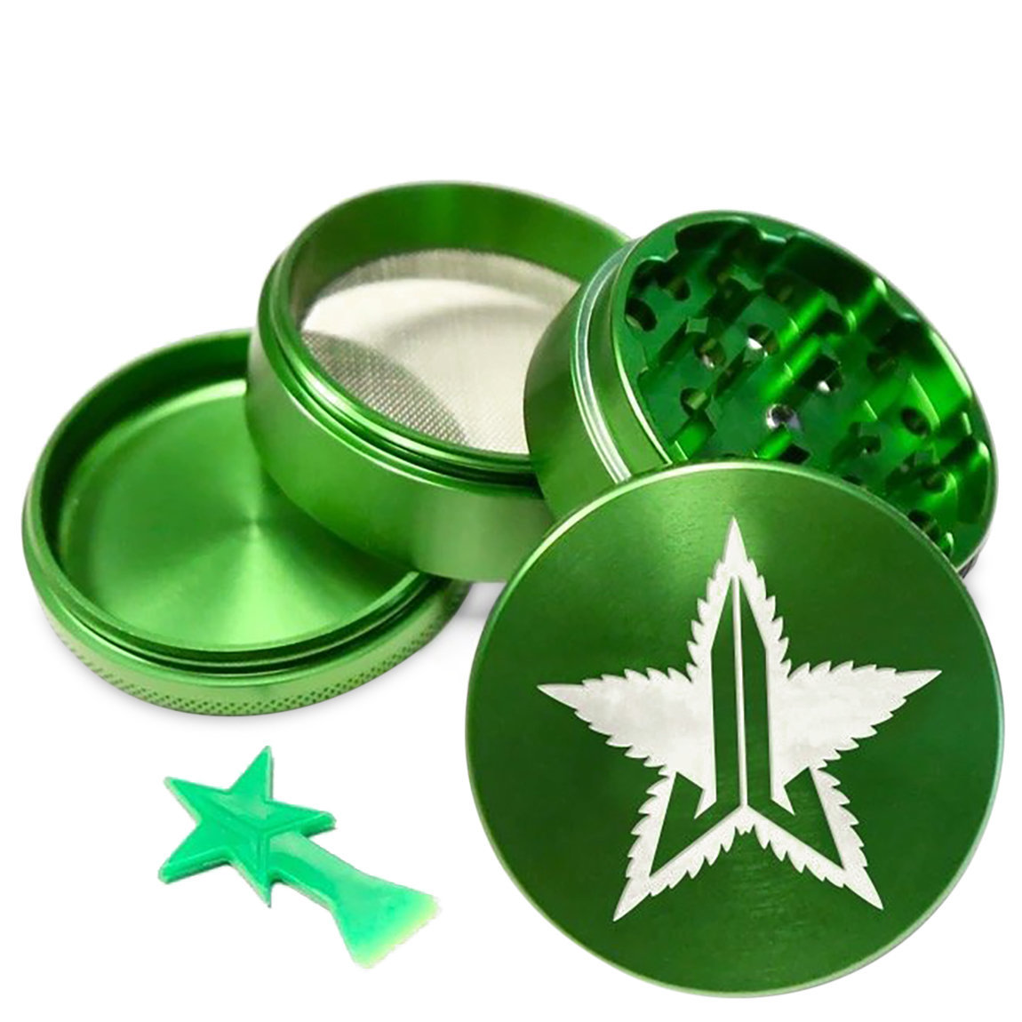 Jeffree Star Cosmetics 63mm Grinder Green alternative view 1 - product swatch.