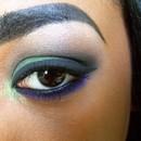 Forest Green Smokey Eye