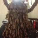 elegant curls by Christy Farabaugh
