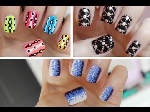 05ffc80c7 Easy Nail Art For Beginners!!!  2