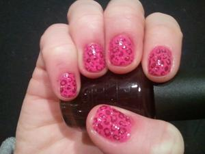 Barbie Inspired Nails
