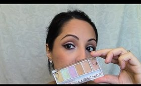 COLOR CORRECTING | HARD CANDY Sheer Envy Conceal & Corrector Palette | DEMO & REVIEW |