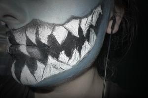 inspired by Venom (Marvel) teeth