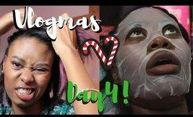 Bad Hair day, Good Mask day? | Vlogmas Day 3! ♡ Christina Amor