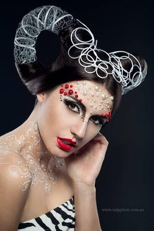 HMUA & Style: Angie Y Photography: Ladyphoto Model: Andjela Timani