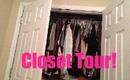 CLOSET TOUR!!